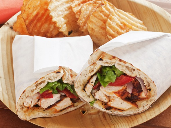 Creole Chicken Wrap
